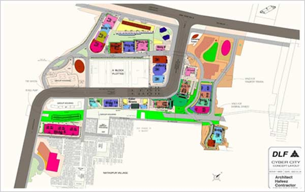 LAYOUT DLF CYBER CITY